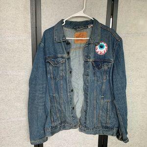 Custom Levi Jean jacket